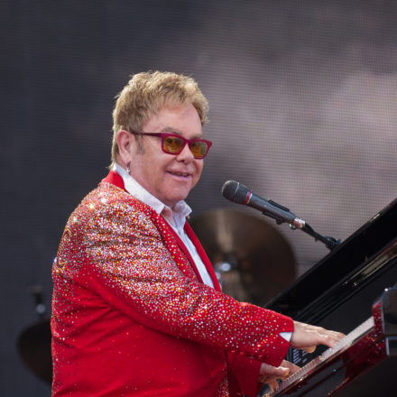 Elton John Concert At Kingsholm, Gloucester