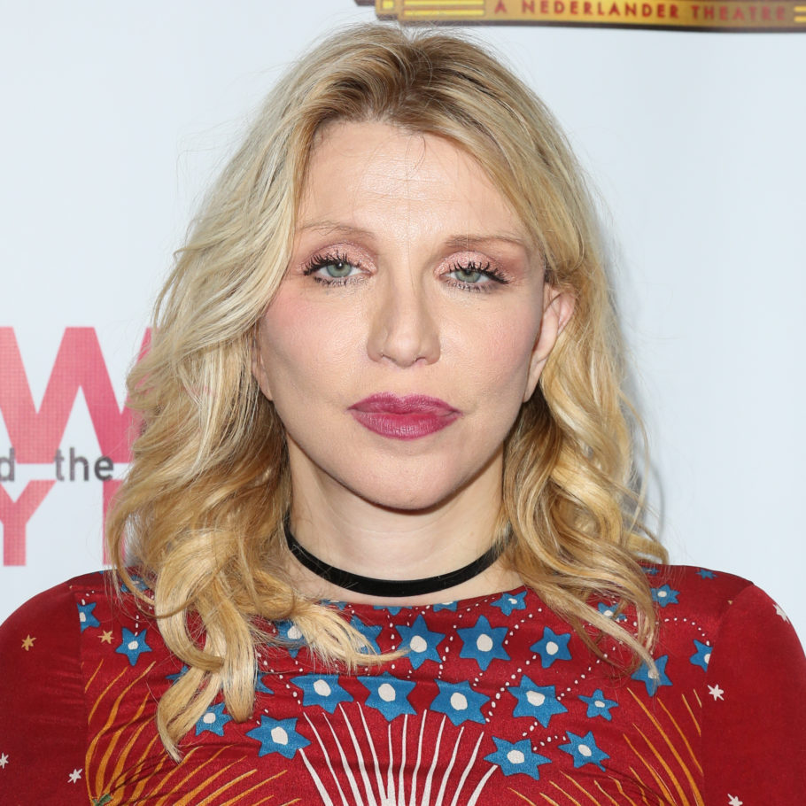 "HOLLYWOOD, CA - NOVEMBER 02:  Actress / Musician Courtney Love attends the opening night of ""Hedwig And The Angry Inch"" at the Pantages Theatre on November 2, 2016 in Hollywood, California.  (Photo by Paul Archuleta/FilmMagic)"